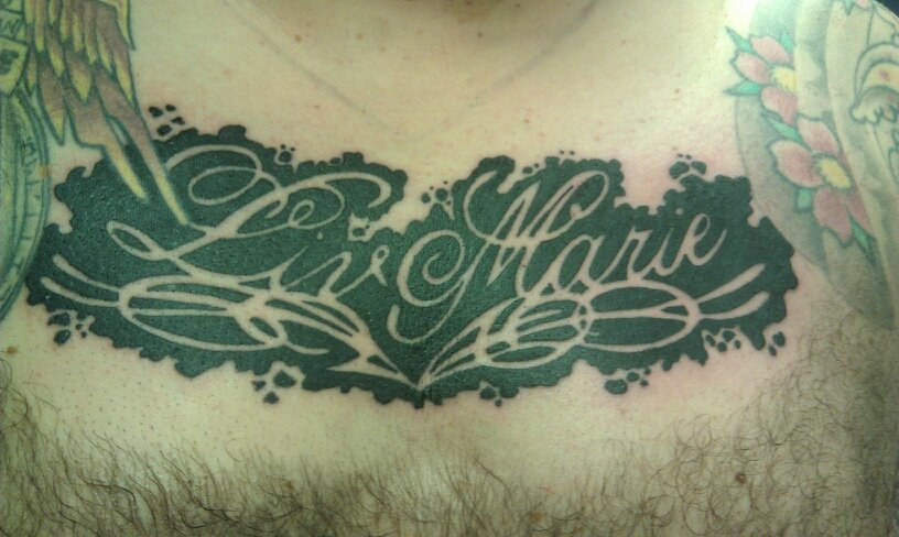 Fancy headless hands custom tattoos shop kansas city for Fancy name tattoos