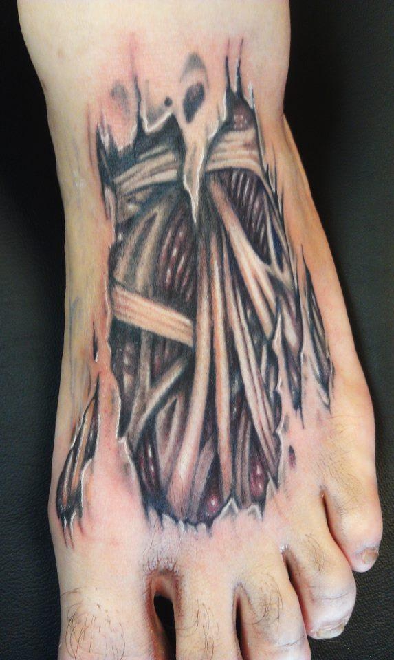 Skin Rip Tattoos