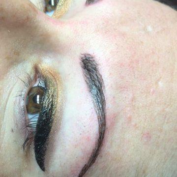 eyebrow microblade eyelash