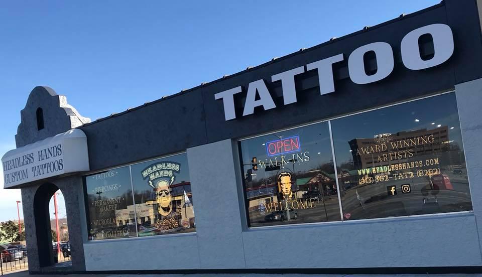 cef62a3cfdb1e ... Headless Hands Custom Tattoos Kansas City Shop Tattoo Shop Outside ...